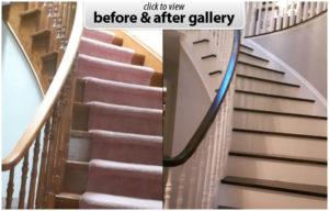 hardwood stairs restore