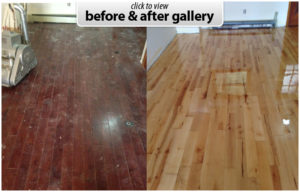 hardwood restaining