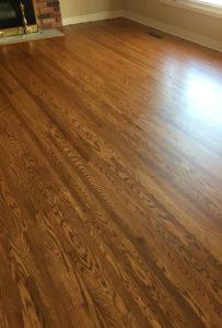 restored hardwood floors