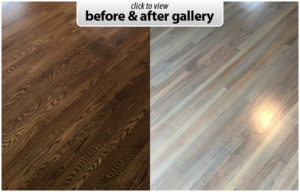 hardwood restaining