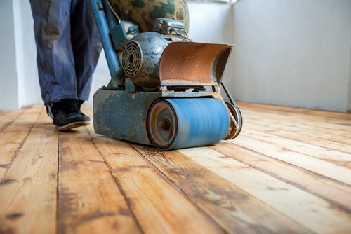 Sanding Hardwood Floors, Hardwood Restoration